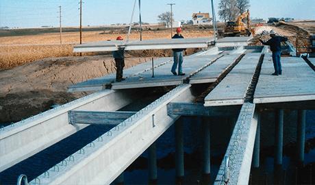 Prestressed Concrete Bridge Slabs Precast Deck Panels